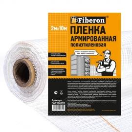 Пленка армированная полиэтиленовая 2м x 10м, 140мкм 1 сорт Fiberon нарезка