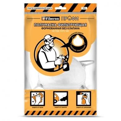 Респиратор пылезащитный без клапана, FFP1, Fiberon ПРОФИ