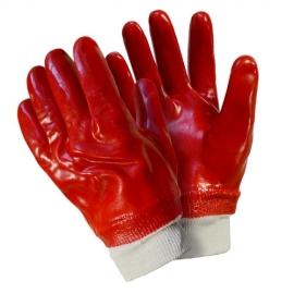 Перчатки хлопчатобумажные с ПВХ покрытием Fiberon