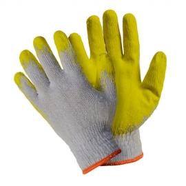 Перчатки хлопчатобумажные с латексным покрытием, износостойкие