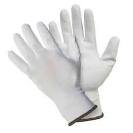 Перчатки нейлоновые с полиуретановым покрытием Fiberon