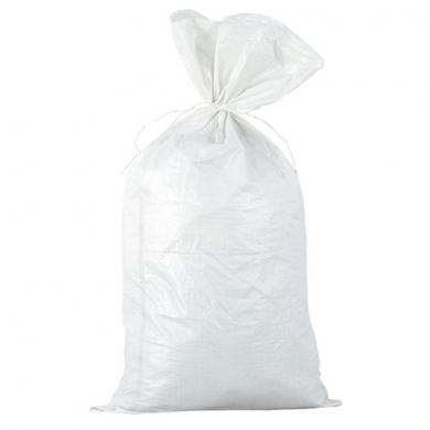 Мешок 55см x 95см по 500 штук 4Walls для строительного мусора полипропиленовый тканый белый