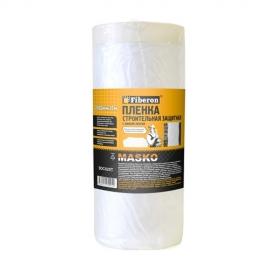 Пленка строительная защитная с липкой лентой MASKO Fiberon