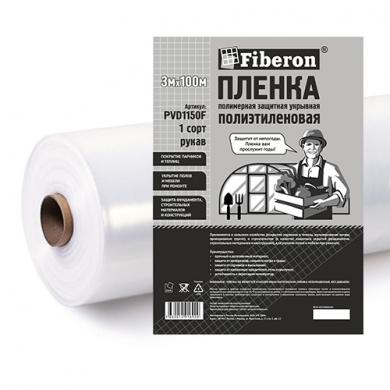 Пленка полиэтиленовая 3м x 100м 1 сорт Fiberon рулон